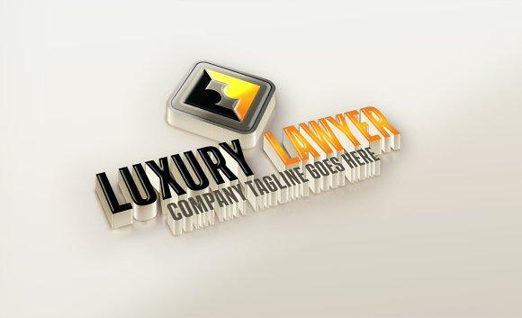 Luxury Lawyer Logo Design