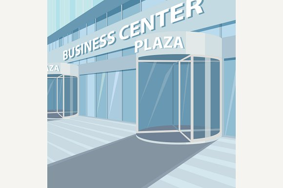 Exterior Of Office Business Center