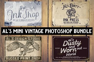 AL's Mini Photoshop Vintage Bundle