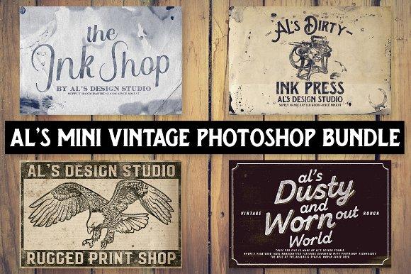AL's Mini Photoshop Vintage Bundle