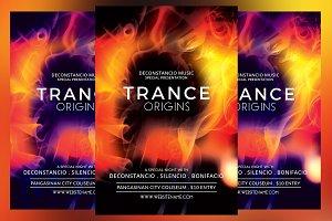 Trance Origins Flyer