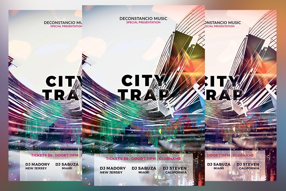 City Trap Flyer