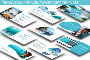Travelocha - Travel Powerpoint Theme