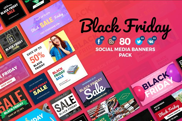 Black Friday - SMM Banners Pack