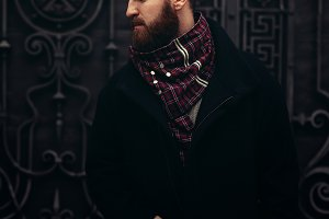 hipster retrosexual man