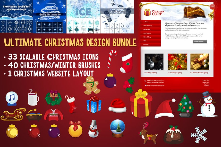 Ultimate Christmas Bundle (74 Items)