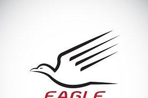Vector of an eagle design. Bird.