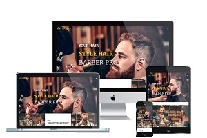 ET Barber – Barber Website Template