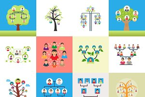 Family Tree Illustrations
