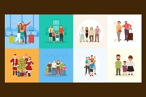 Family Illustrations