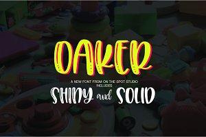 Oaker Font Duo