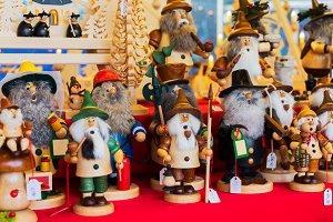 Christmas market kiosk details