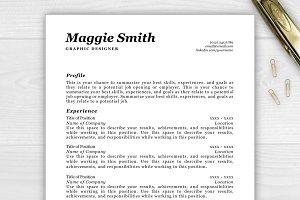 Resume/CV - Maggie