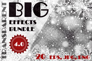 Transparent effects big bundle 4.0