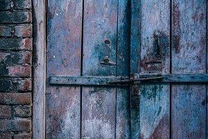 Pink Wooden Door