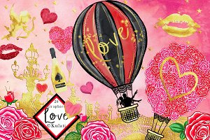 Valentine's Day Love Clipart