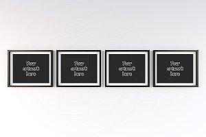 Art print mock-up frame landscape