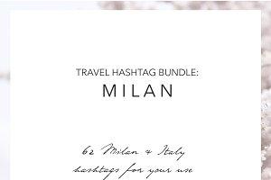 Milan Italy Instagram Hashtags