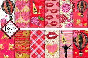 Love Valentine's Day Patterns