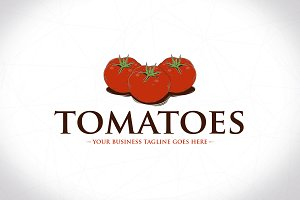 Tomatoes Logo Template