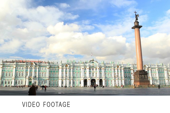 Timelapse. Winter Palace - Architecture