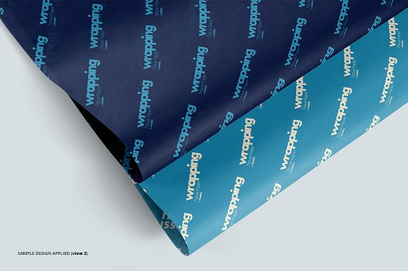 Wrapping Tissue Paper Mockup Set in Product Mockups - product preview 7