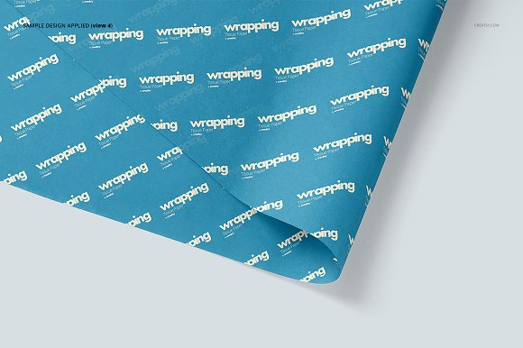 Wrapping Tissue Paper Mockup Set in Product Mockups - product preview 9
