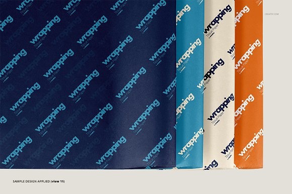 Wrapping Tissue Paper Mockup Set in Product Mockups - product preview 16
