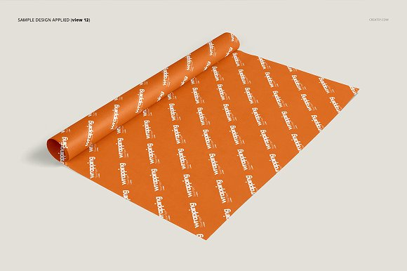 Wrapping Tissue Paper Mockup Set in Product Mockups - product preview 17
