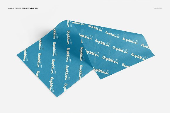 Wrapping Tissue Paper Mockup Set in Product Mockups - product preview 21