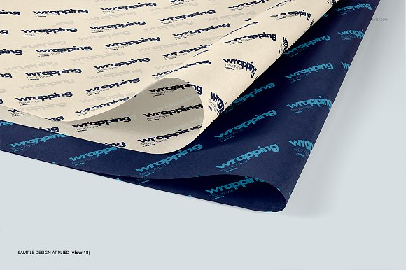 Wrapping Tissue Paper Mockup Set in Product Mockups - product preview 23