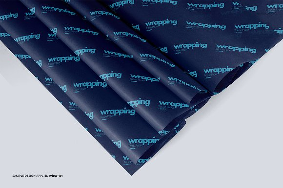 Wrapping Tissue Paper Mockup Set in Product Mockups - product preview 24