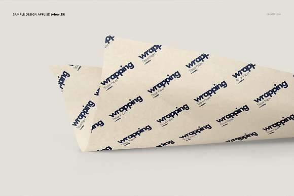 Wrapping Tissue Paper Mockup Set in Product Mockups - product preview 30