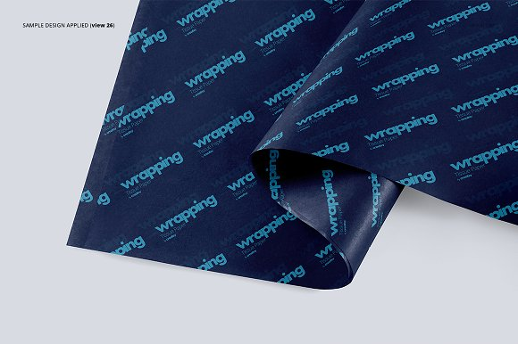 Wrapping Tissue Paper Mockup Set in Product Mockups - product preview 31
