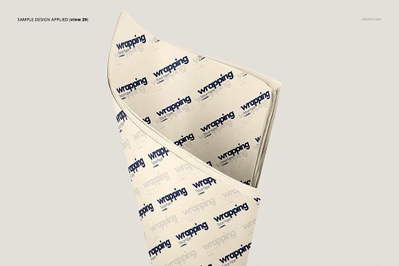 Wrapping Tissue Paper Mockup Set in Product Mockups - product preview 34