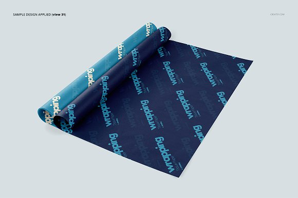 Wrapping Tissue Paper Mockup Set in Product Mockups - product preview 36