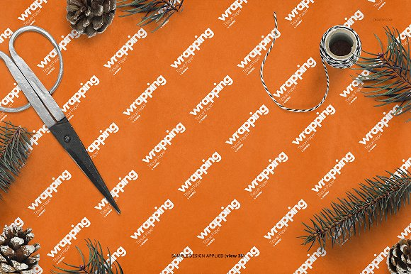 Wrapping Tissue Paper Mockup Set in Product Mockups - product preview 40