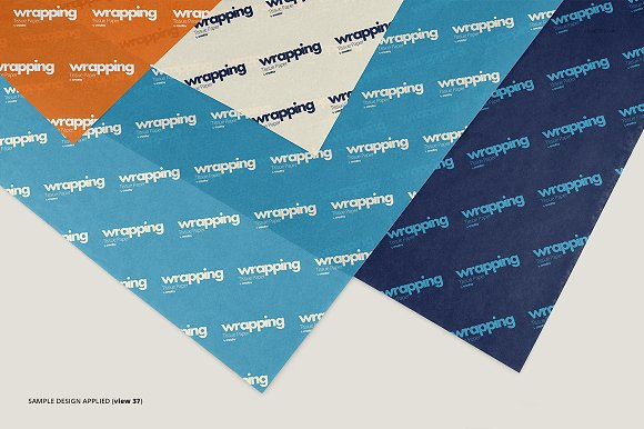 Wrapping Tissue Paper Mockup Set in Product Mockups - product preview 42