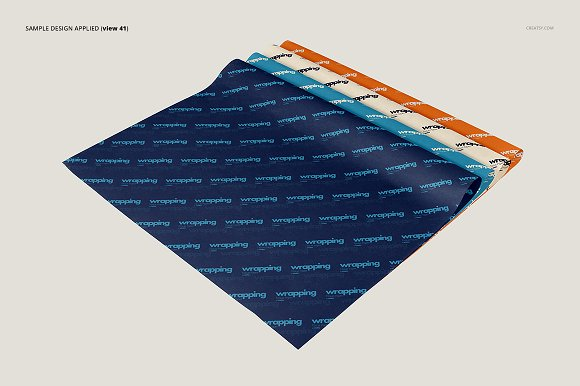 Wrapping Tissue Paper Mockup Set in Product Mockups - product preview 46