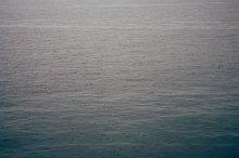Raindrops on the sea