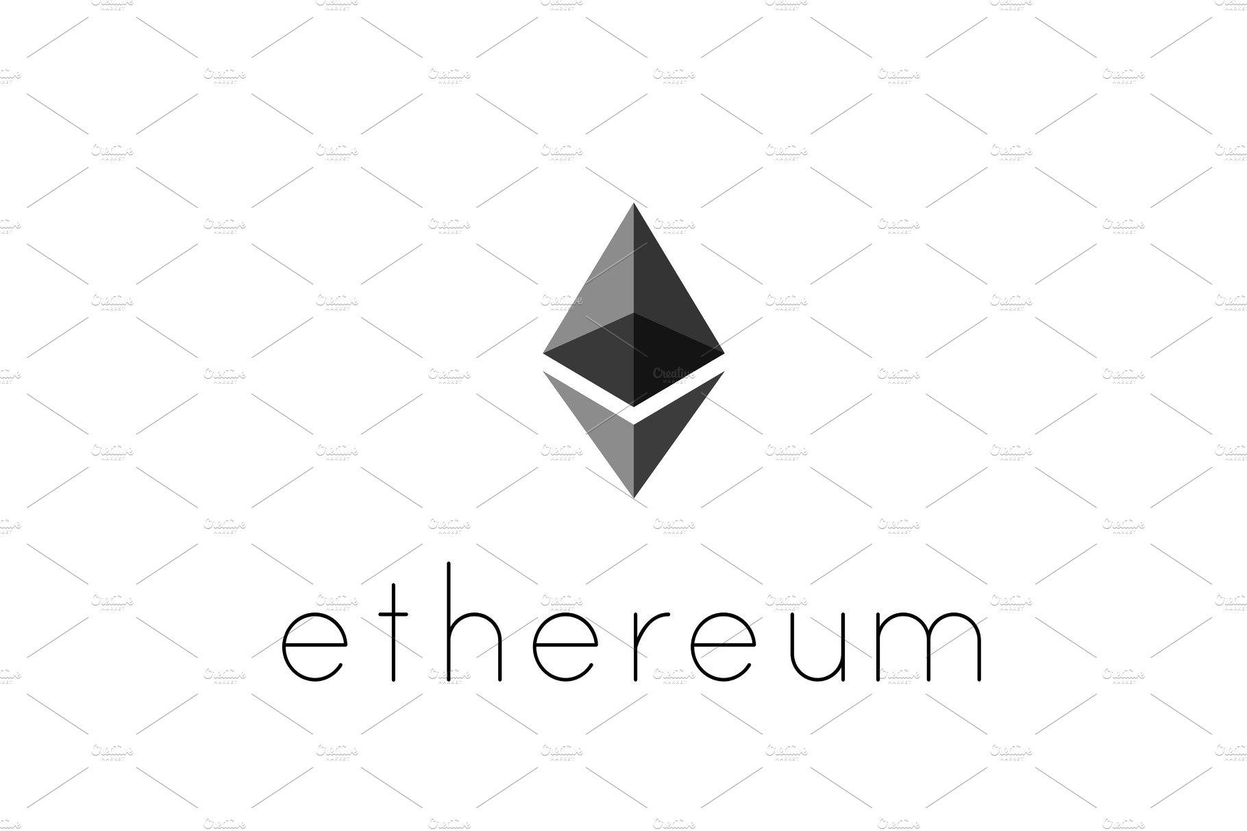 Ethereum coin symbol logo icons creative market ethereum coin symbol logo biocorpaavc