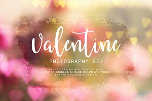 Valentine Photography Set