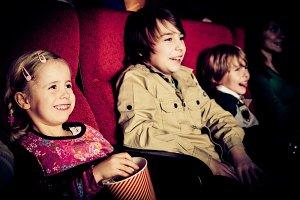 Children At The Cinema