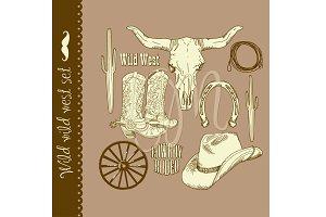 Cowboy clip art, Wild West, western
