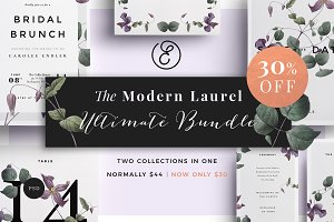 Modern Laurel Ultimate Bundle 30%Off