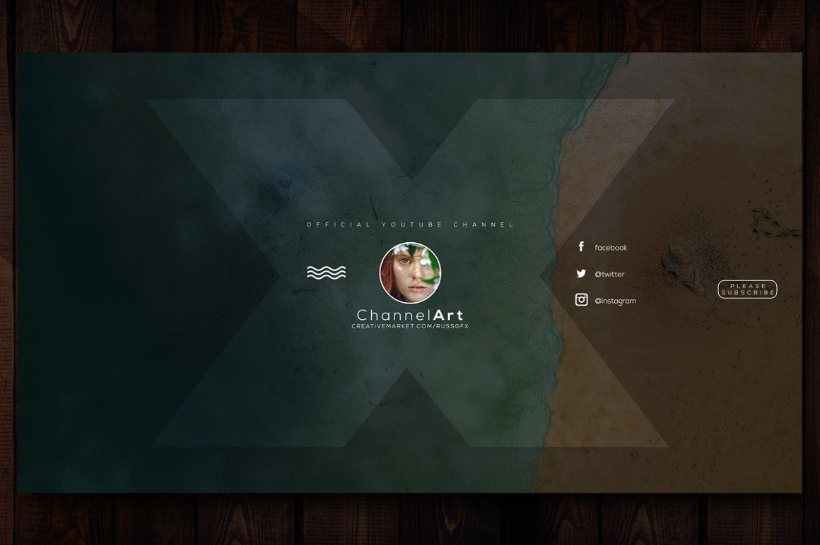 10 Youtube Channel Art Banners vol.6
