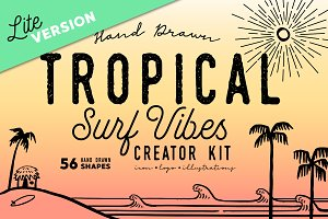Lite-Tropical Surf Vibes-Creator Kit