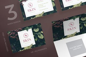 Business Cards | Skin Care