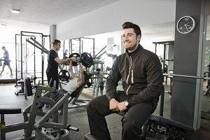 Gym training break