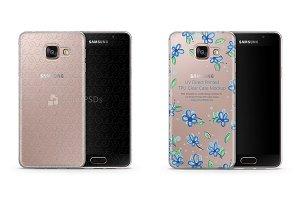 Galaxy A3 (2016) UV TPU Clear Case